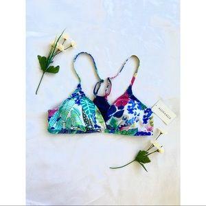 Alofaaga Triangle Tropical Bikini Top